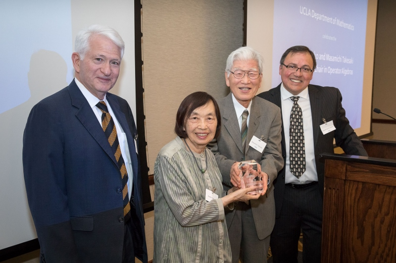 Celebrating The Yuki, Kyoko, and Masamichi Takesaki Endowed Chair in Operator Algebras: